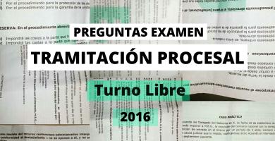 examenes tramitacion procesal convocatorias anteriores