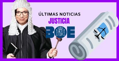 novedades ministerio de justicia oposiciones