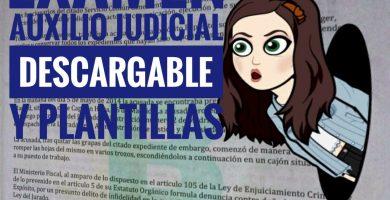 examenes auxilio judicial