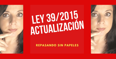 actualizacion ley procedimiento administrativo