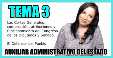 temario oposiciones auxiliar administrativo del estado