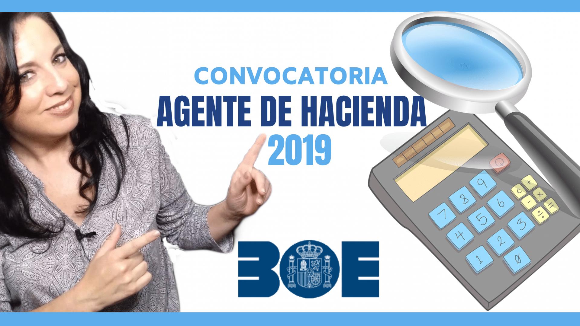 oposiciones agente de hacienda 2019