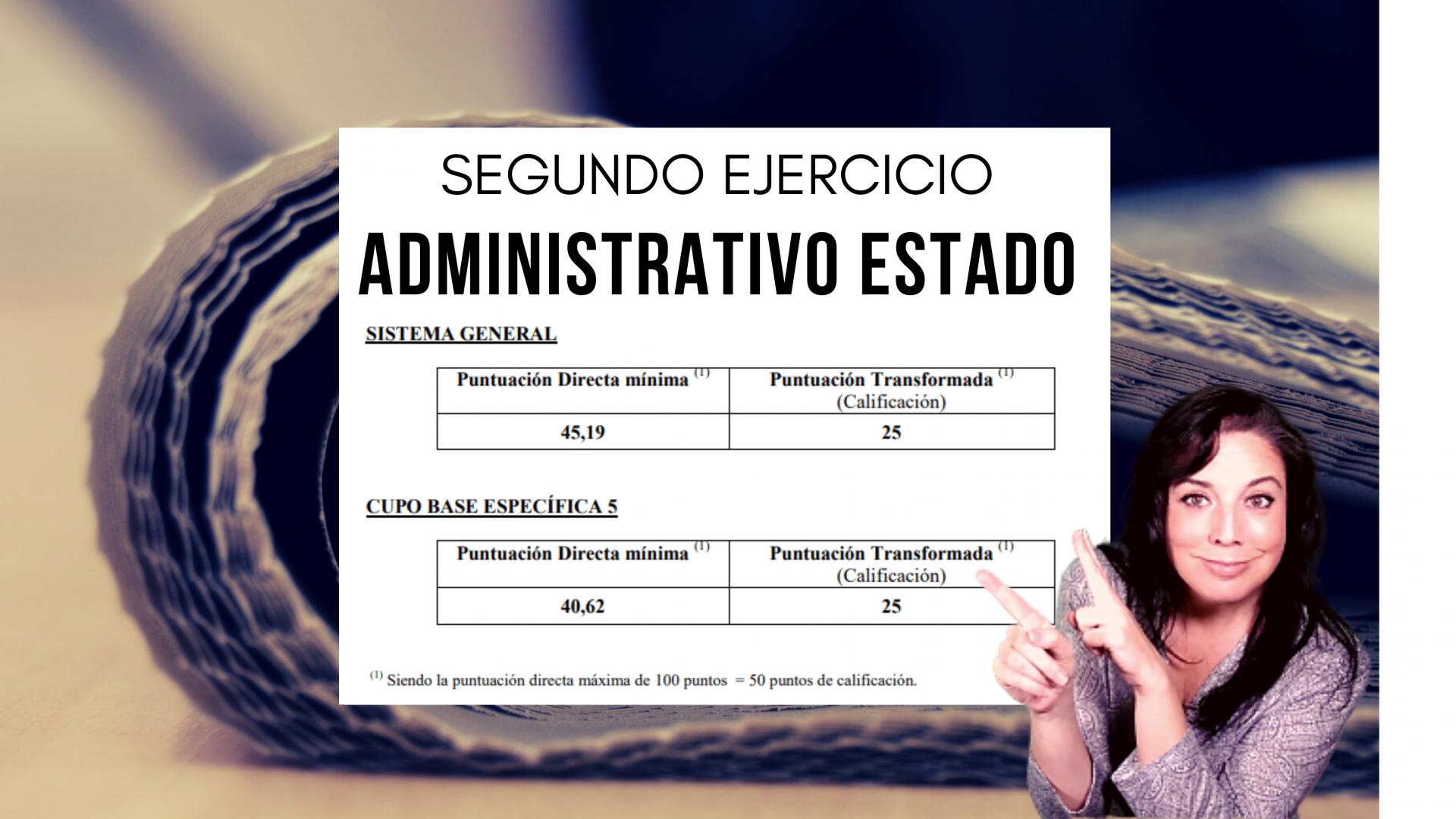 aprobados administrativo del estado convocatoria 2019