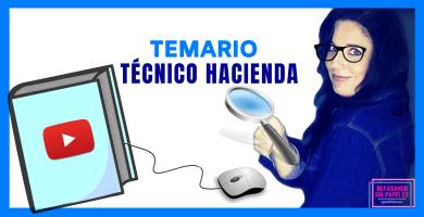 temario oposiciones cuerpo tecnico de hacienda