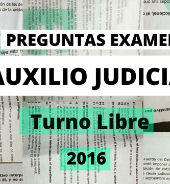 preguntas examen auxilio judicial 2016