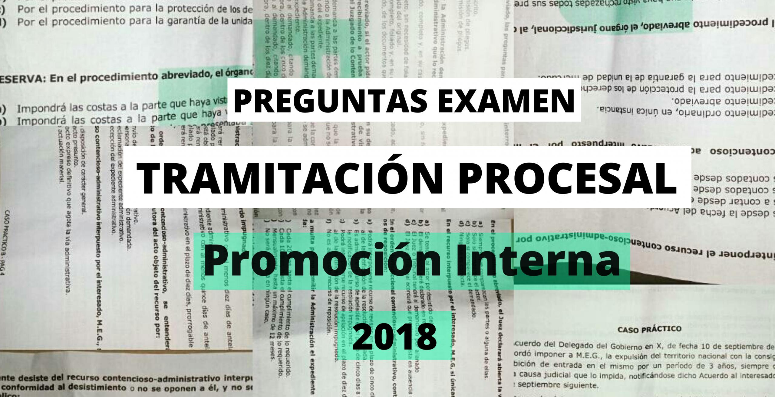examenes tramitacion procesal promocion interna