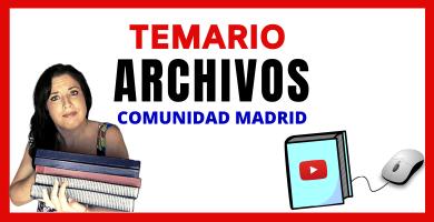 opositora archivos y bibliotecas madrid