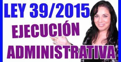 ley 39/2015 procedimiento administrativo comun administraciones publicas