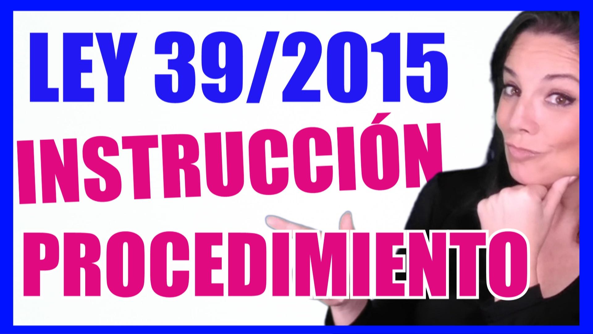 ley 39/2015