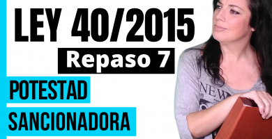 opositora estudiando ley 40/2015