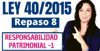 ley 40/2015 regimen juridico sector publico