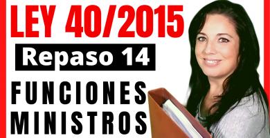 ley 40/2015 opositora administrativo