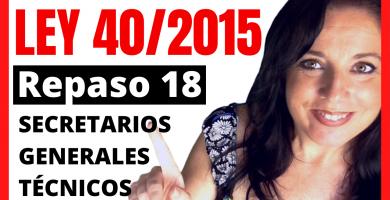 estudiando la ley 40/2015