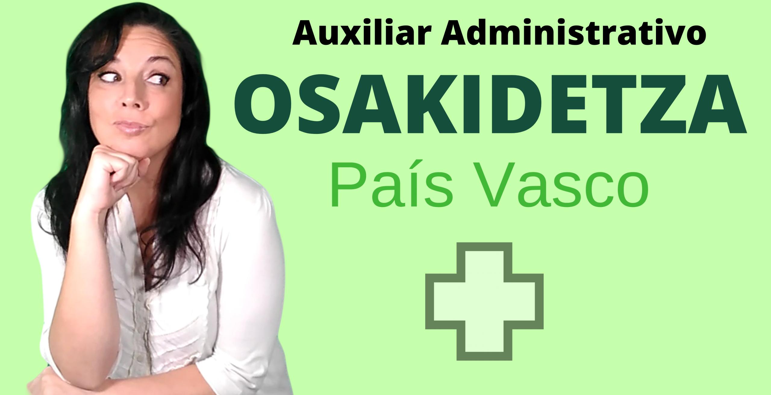 oposiciones administrativo pais vasco