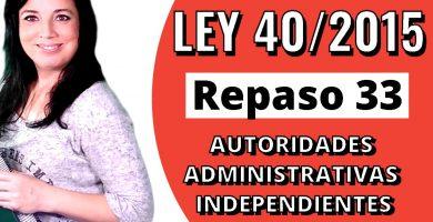 opositora administrativo estudiando la ley 40/2015