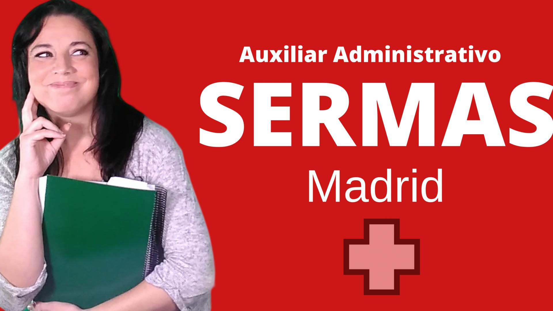 Oposiciones Administrativo SERMAS Madrid