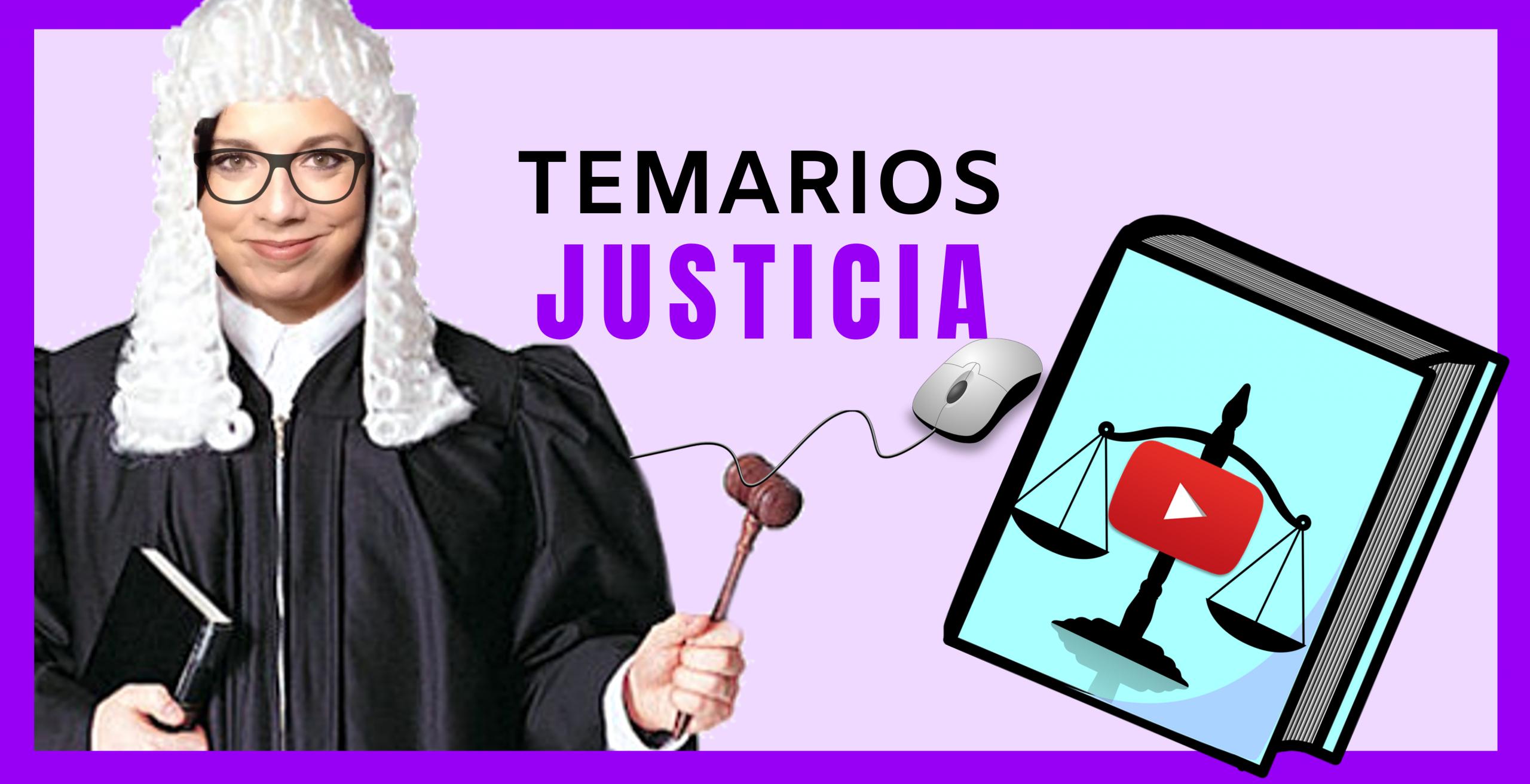 temarios auxilio judicial y tramitacion procesal