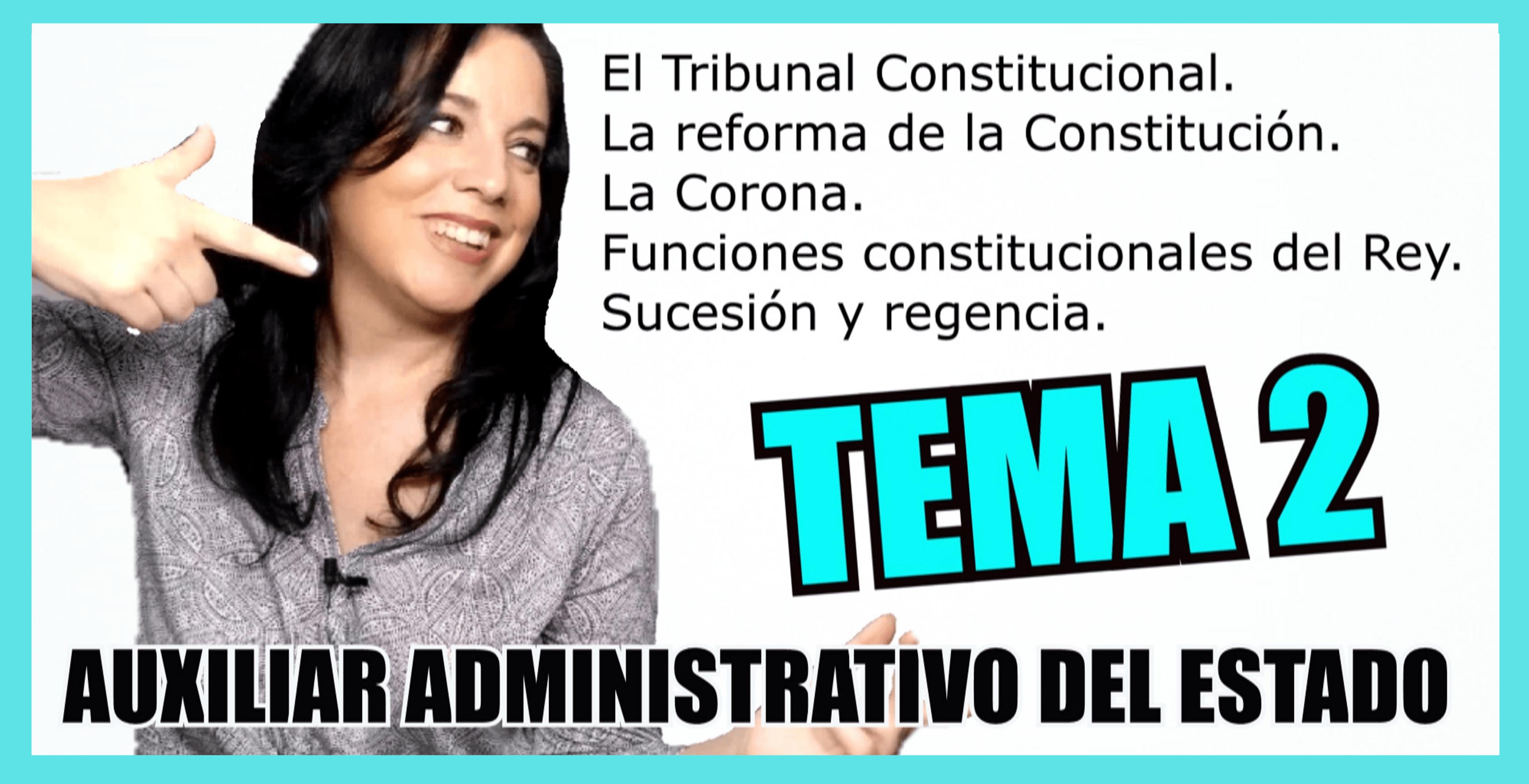 temario auxiliar administrativo del estado tema 2