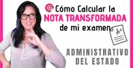 como calcular la nota de corte administrativo del estado