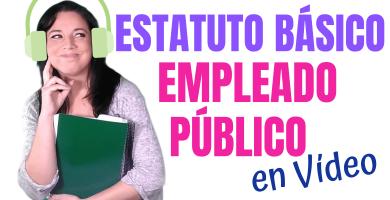 estatuto basico del empleado publico