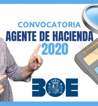 opositora agente de hacienda 2020