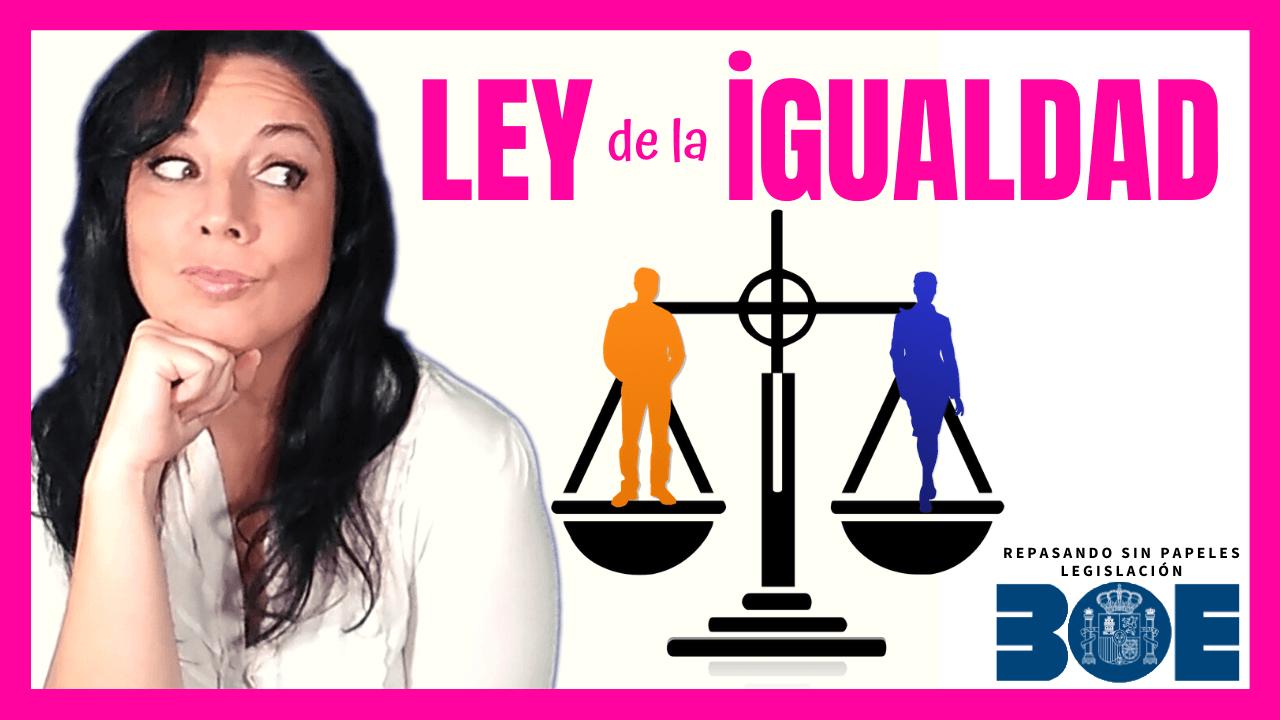 ley de igualdad de género