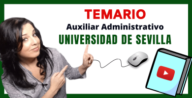 opositora auxiliar administrativo universidad de sevilla