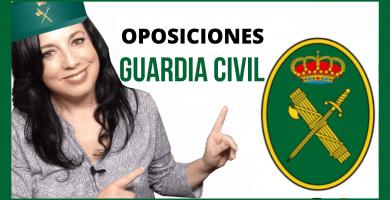 opositor estudiando oposiciones guardia civil