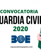 opositor guardia civil 2020