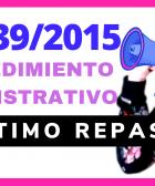 ley 39/2015 oposiciones
