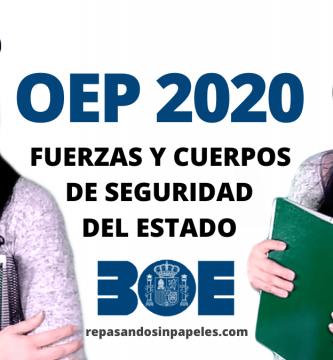 oferta empleo publico 2020 guardia civil y policia nacional