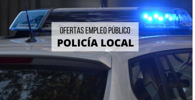 coche policia local y nacional