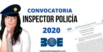 inspectora policia nacional