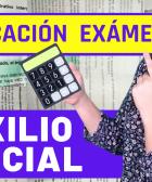 como calcular la nota de examen de auxilio judicial