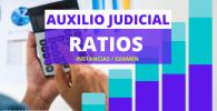 estadisticas instancias presentados al examen auxilio judicial