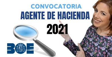 convocatoria agente de hacienda 2021