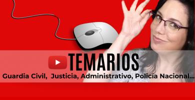temario oposicion