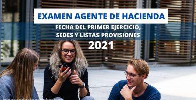 relacion de admitidos y excluidos y sedes de agente de hacienda