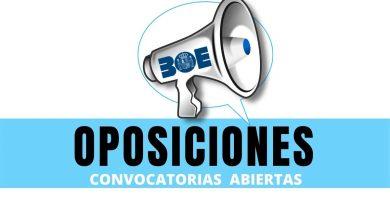 convocatorias oposiciones con plazo abierto