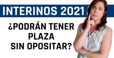 noticia interinos 2021