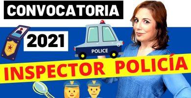 convocatoria policia nacional escala ejecutiva inspector 2021